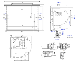 Movie Theater Floor Plan Starling Tab Tension 2 Series Electric Screens Wall Ceiling