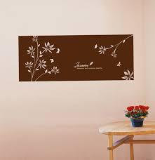 Headboard Wall Sticker by Headboard Wall Decals Frame Wall Decals Jasmine Flower Wall Decals