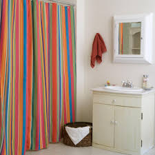 bathroom ideas with shower curtains le jardin stripe shower curtain hayneedle