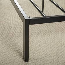 Platform Bed Slats Zinus Faux Leather Classic Platform Bed With Steel Support Slats