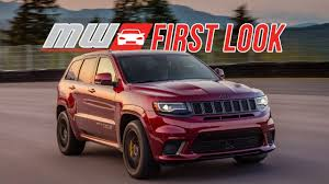 trackhawk jeep black 2018 jeep grand cherokee trackhawk first drive youtube