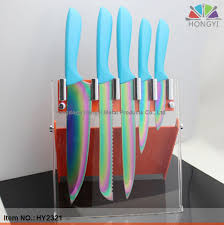 kitchens knives kitchen knife set 1 titanium knife set 2 rainbow knife set 3