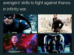 Marvel Memes - if mix up these skills that would be epic one skill distraction