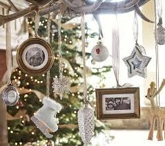 glitter frame ornaments pottery barn
