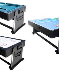 pool and air hockey table in 1 rotating multi game table pool air hockey table tennis