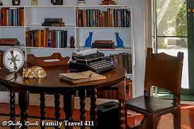 Hemingway Desk If Cats Could Type In Key West A Visit To The Hemingway Home