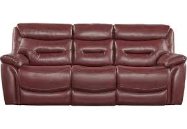 raymour and flanigan power recliner sofa vivaldi leather power reclining sofa red raymour flanigan with