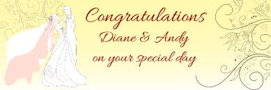 congratulations wedding banner wedding banners print a banner pvc banners for any occasion