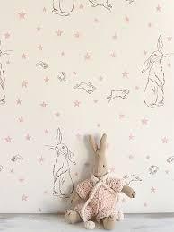 Bunny Nursery Decor Baby Nursery Decor Bunny Rabbits Baby Wallpaper Nursery
