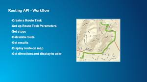 Make A Route Map by Developing Android Apps With The Arcgis Runtime Sdk For Android
