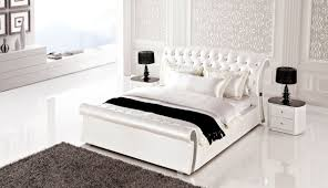 White Walls Bedroom Decorating Ideas Classy Vintage Bedroom Decor With White Walls Also Bay Windows