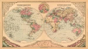 Vintage World Map Terrific Antique Map Wallpaper 3 Vintage Map Wallpaper For Walls