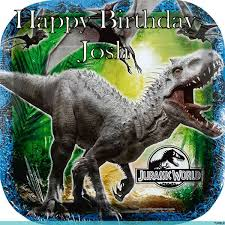 jurassic park cake topper jurassic park cake topper with name