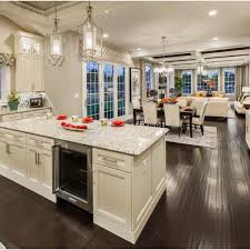 Open Kitchen And Living Room Floor Plans by Open Concept Kitchen Living Dining Great Room Favorite