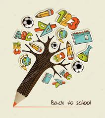 back to school pencil tree stock vector cienpies 13140549