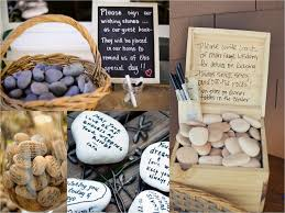 wedding wishing stones best gift idea 16 incredibly wedding guest book ideas