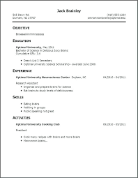 simple resumes exles resume exles for teen template no experience rural
