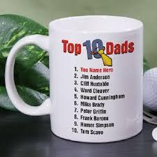 mugs personalized top 10 dads coffee mug neat stuff