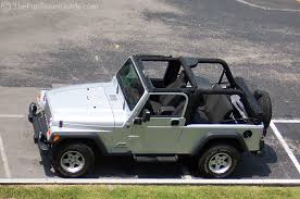 jeep soft top open how to open the sunrider top on your jeep s soft top like a sun