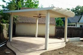 patio cover styles in sacramento aluminum vs vinyl patio covers
