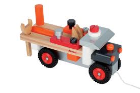 tracteur en bois jouets janod ekobutiks l ma boutique écologique jouets en