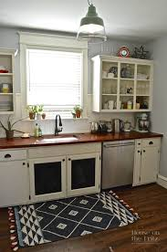 Flooring And Kitchen Cabinets For Less An Old Kitchen Gets A New Look For Less Than 1 500 Kitchens