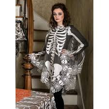 halloween skeleton poncho shop pbs org