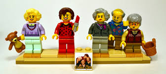lego ideas the golden girls living room and kitchen modular set