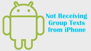 android not receiving texts how to solve android problem not receiving texts from iphone