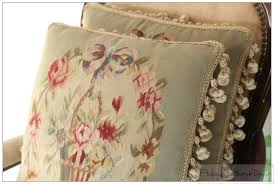 Shabby Chic Cushions by Vintage Shabby Chic Home Decor Aubusson Tapestry Pillows Cushion