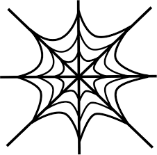 free printable spider web coloring pages for kids inside spider