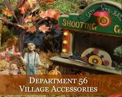 vintage halloween village houses u0026 accessories traditions