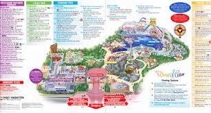 map of california adventure disney california adventure 2011 park map