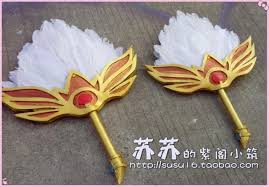 feather fan magi the labyrinth of magic hakuei ren feather fan weapon