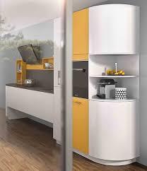plan de travail arrondi cuisine meubles arrondis éloge de la courbe en cuisine mobalpa