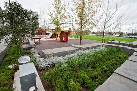 landscaping with australian native plants docklands development takes out top gong at 2014 victorian
