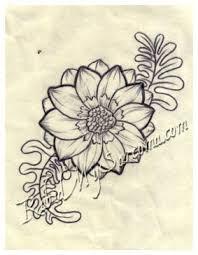 tattoo flower drawings flower line drawing by jacksonmstattoo on deviantart