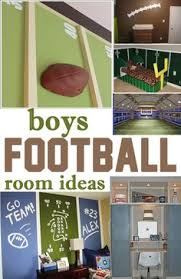 Sports Themed Wall Decor - football themed kids bedroom google search reed u0027s bedroom