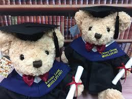 Personalized Graduation Teddy Bear 香港傷殘青年協會
