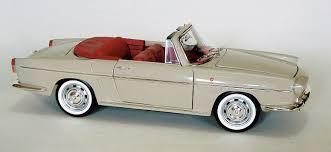 1964 renault caravelle retromobile em 1 18 renault caravelle 1964 frança