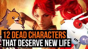 12 dead characters that deserve new life gamesradar