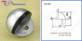 Shower Door Stopper High Quality Semicircle Zinc Alloy Glass Shower Door Stop View