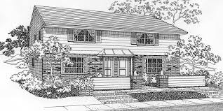 Multi Family Homes Floor Plans Duplex House Plans Two Unit Home Built As A Single Family