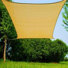Backyard Shade Canopy by 2017 Shade Sail Patio Covers Outdoor Size 4m 6m Rectangle Backyard