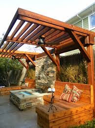 Zen Spaces Contemporary Wooden Pergolas Imanada Zen Habitat One Specialty