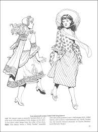 celtic fashions coloring book additional photo