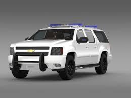 chevrolet suburban 3d chevrolet suburban z71 police cgtrader