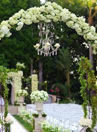 Wedding Arches Inside Luxury Wedding Ideas Chandeliers With Fresh Flowers Inside Weddings