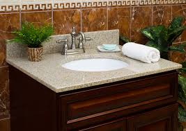 Bathroom Vanities Tops Lowes Creditrestoreus - Home depot bathroom vanity granite