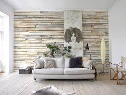 Wanddeko Wohnzimmer Modern Baumstamm Deko Wand Mit Fernseher 7 Und Emotionslos Auf Moderne